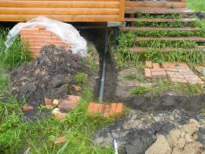 Бурение скважины в деревне Чемихино