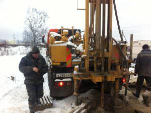 Бурение скважины в Колчаново