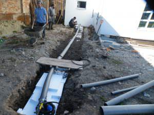 Бурение скважины в поселке Пупышево
