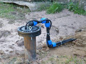 Бурение скважины на воду в поселке Пупышево
