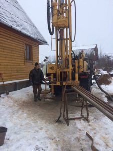 Бурение скважин на воду в Волховском районе за февраль 2019