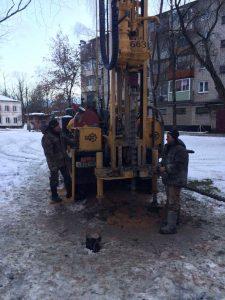 Бурение скважин в садоводстве Радуга ноябрь 2018 года